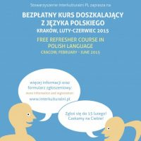 Polish language training course for foreigners