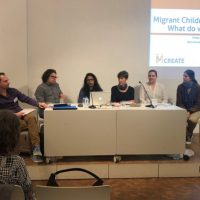 Conference on migrant children experiences in education in Barcelona, Spain